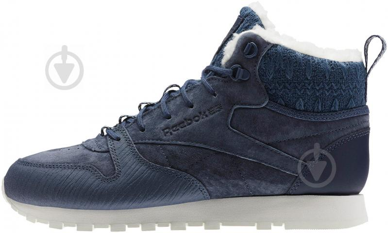 Кроссовки Reebok Classic Leather Arctic Boot BS6275 р.37,5 синий - фото 1
