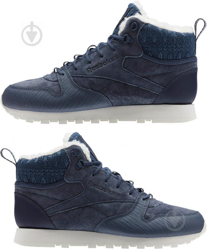 Кроссовки Reebok Classic Leather Arctic Boot BS6275 р.37,5 синий - фото 4