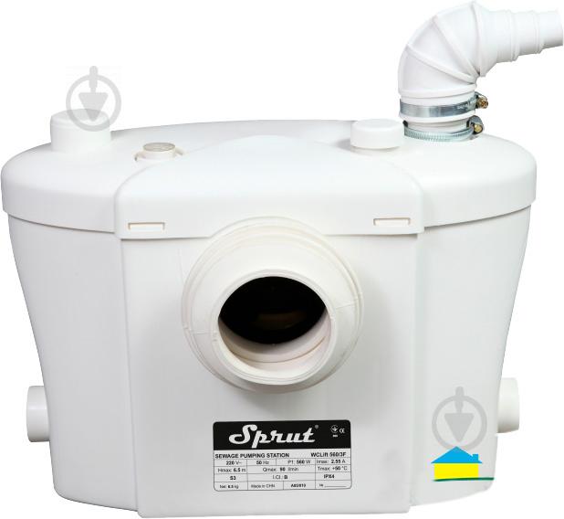 Каналізаційна установка Sprut WCLIFT 600/2F Hot - фото 1
