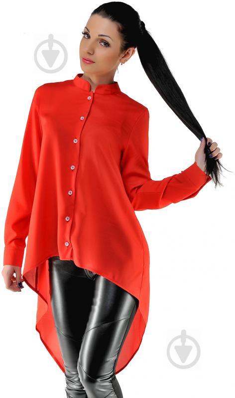 Блуза Azuri р. S червоний 5145-13 - фото 1