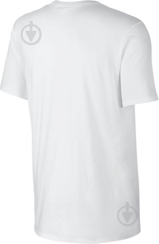 e8197b03 Футболка Nike M NSW TEE CLUB EMBRD FTRA 827021-100 S білий - фото 2