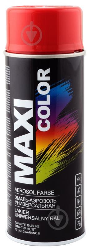 Емаль аерозольна RAL 3000 Maxi Color вогненно-червоний 400 мл - фото 1