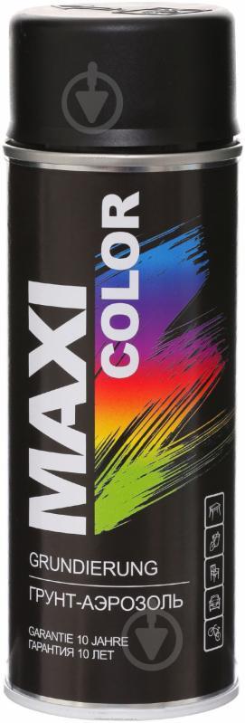 Грунт аэрозольный Maxi Color черный 400 мл - фото 1