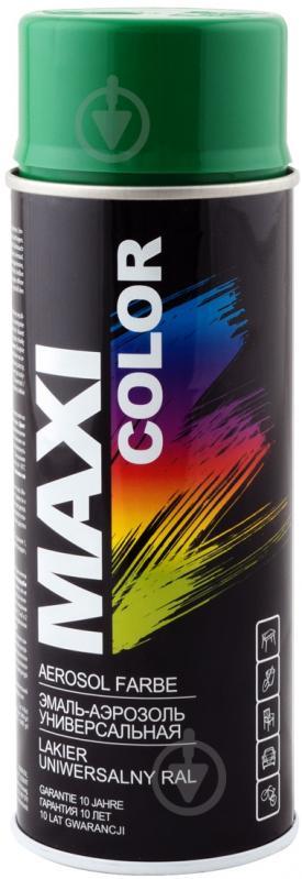 Эмаль аэрозольная RAL 6029 Maxi Color мятно-зеленый 400 мл - фото 1
