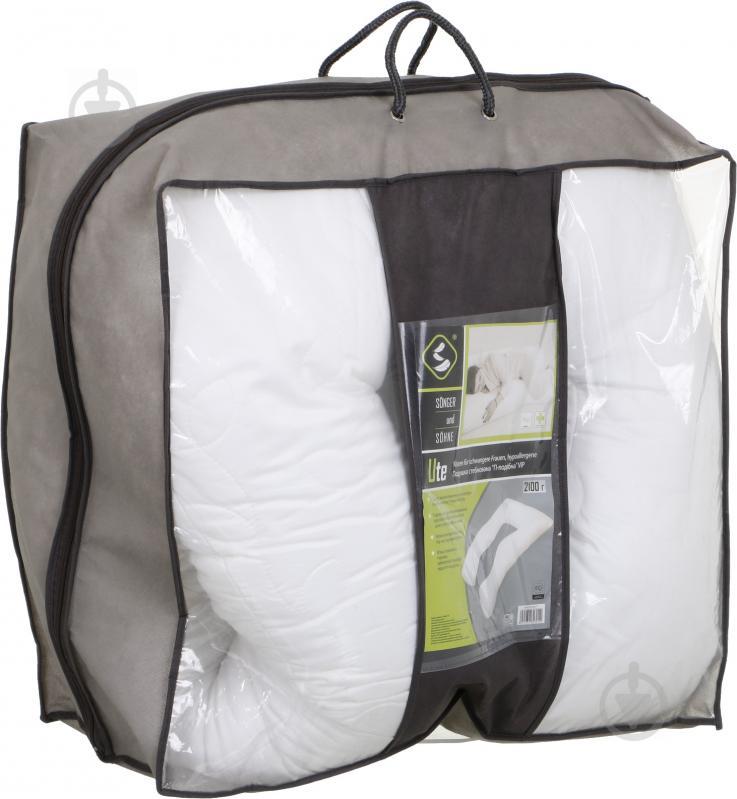 Подушка П-образная для будущих мам 2100 г VIP итальянский сатин Songer und Sohne - фото 3