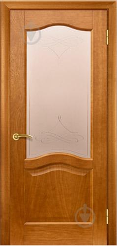 Дверное полотно Terminus №03 ЗС+КМ 700 мм дуб темный - фото 1