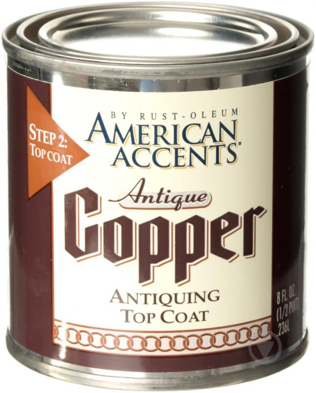 Набор декоративный Antique Copper Rust Oleum античная медь 576 г - фото 3