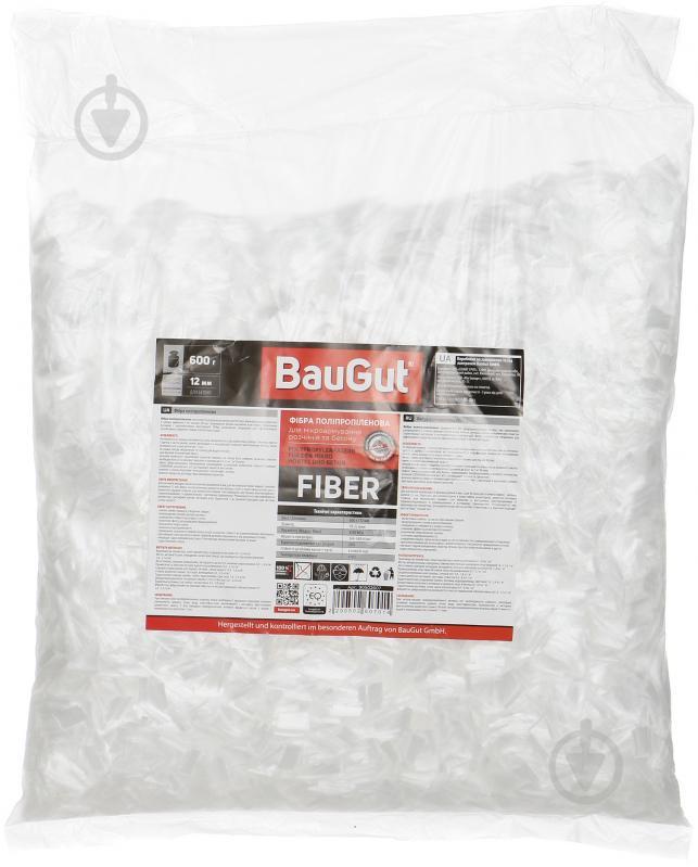 Фибра полипропиленовая BauGut 12 мм 0,6 кг - фото 1