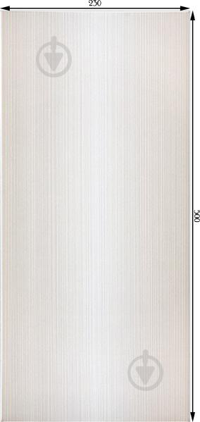 Плитка InterCerama STRIPE серая светлая 99 071 23x50 - фото 3