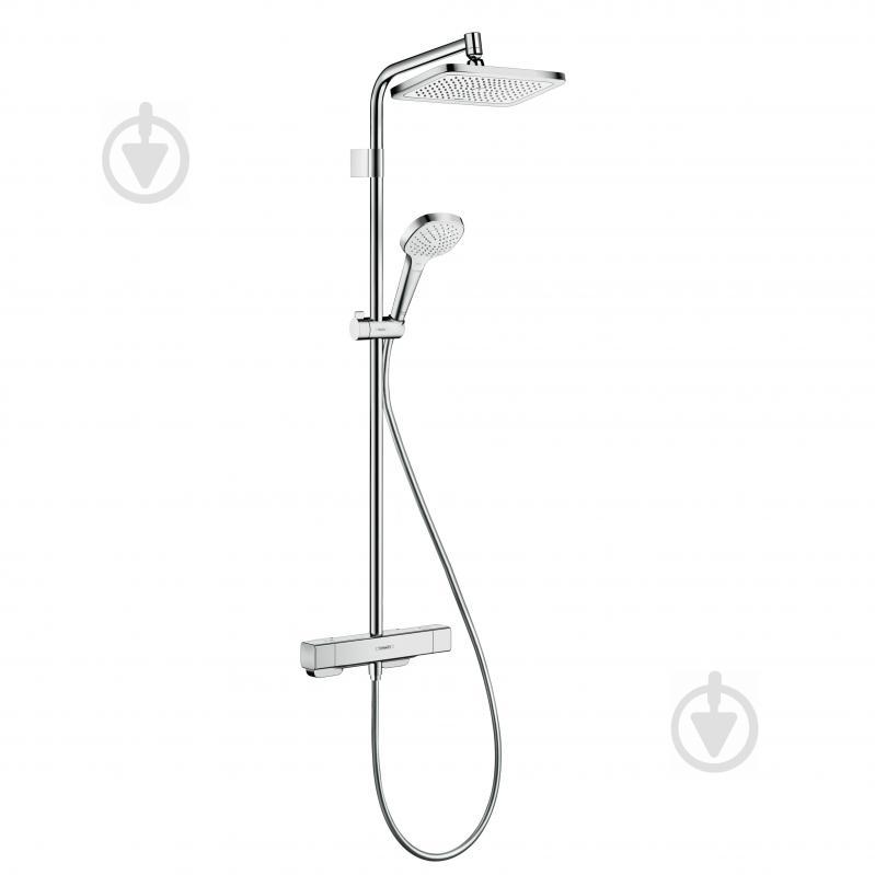 Душова система Hansgrohe Croma E Varia Showerpipe 280 1jet - фото 1