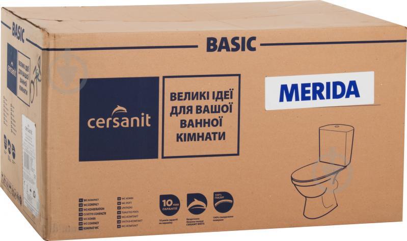 Унитаз-компакт Cersanit Merida 011 3/6 с сиденьем - фото 4
