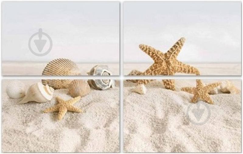 Плитка Golden Tile SUMMER STONE Holiday бежевий декор №2 В41321 25x40 - фото 3
