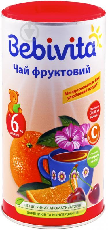 Чай Bebivita фруктовий 200 г 9007253101899 - фото 1
