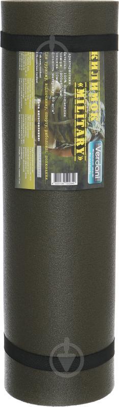 Коврик Military 1800х600х10мм для фитнеса графитовый - фото 3