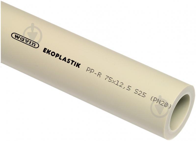 Труба поліпропіленова Wavin Ekoplastik 20 PN20 4 м - фото 1