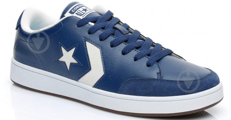 Кеды Converse Star Court 161612C р. 8,5 синий - фото 1