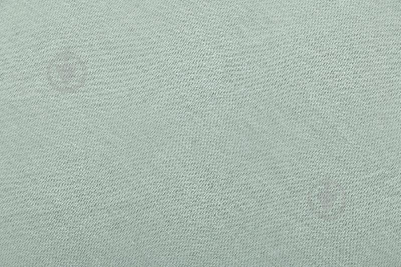 Простынь на резинке трикотажная 140x200 см светло-зеленый Songer und Sohne - фото 2