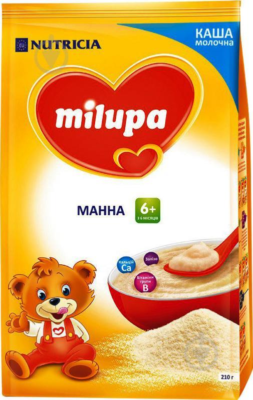 Каша молочна Milupa Манна 610024 5900852930096 210 г - фото 1