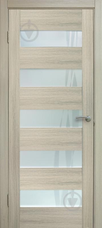 Дверное полотно ОМиС Ліана форте ПО 800 мм дуб беленый - фото 1