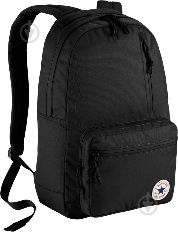 Рюкзак Converse Go черный 10004800-001 - фото 1