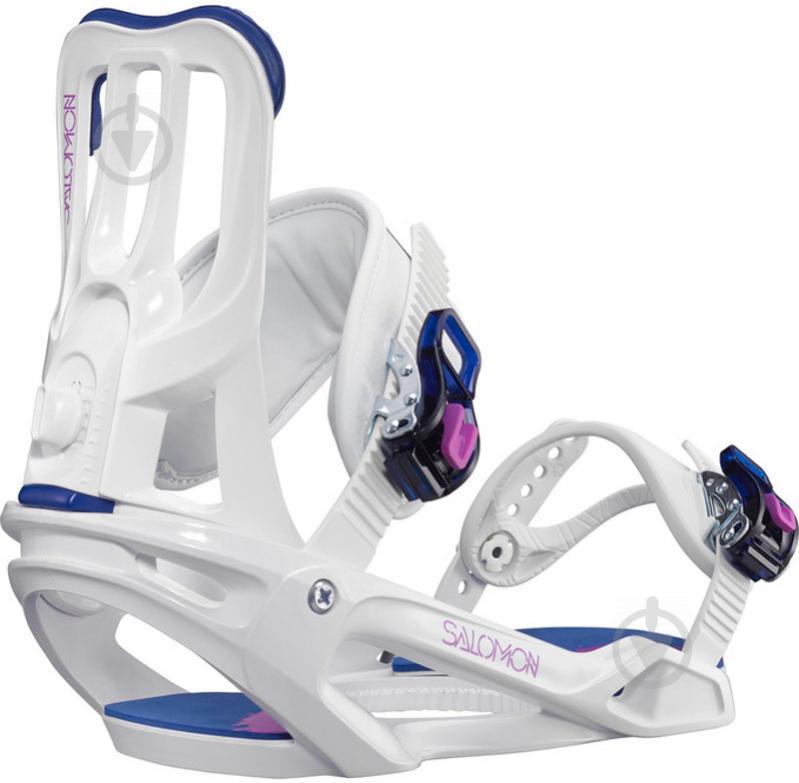 Крепеж для сноуборда SPELL р. M Salomon L39837900 - фото 1