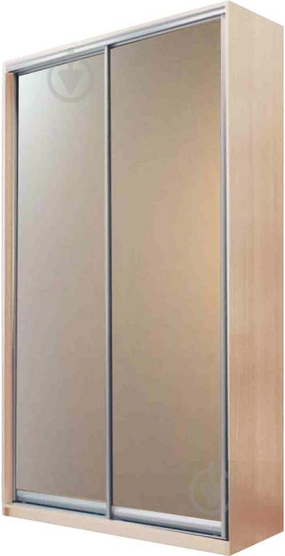 Шафа-купе Doros 1200x450x2250 мм дуб сонома двері дзеркало
