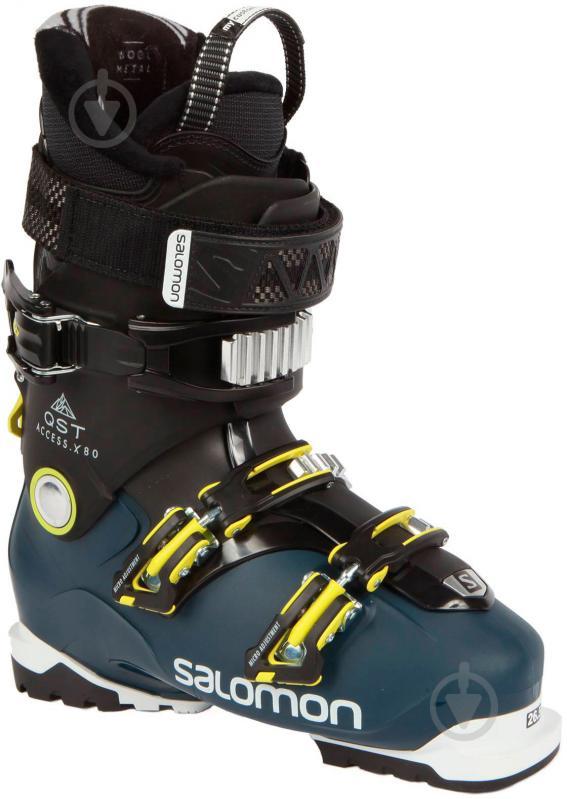 Ботинки Salomon QST ACCESS X80 р. 28,5 L40054900 черный с синим - фото 1