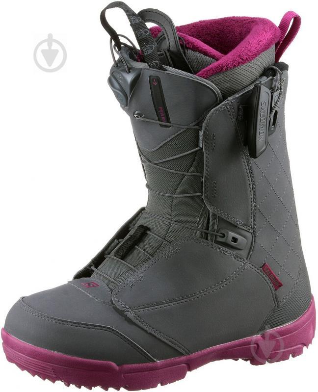 Ботинки горнолыжные Salomon PEARL р. 23,5 L39869900 серый - фото 1
