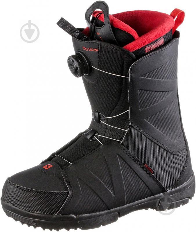 Ботинки горнолыжные Salomon TRANSFER р. 29,5 L40225400 черный - фото 1
