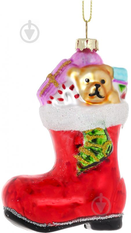Купити. Ялинкова іграшка Чобіток червоний 9 1c325ed912152