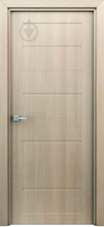 Дверне полотно ІД-Україна Оріон штучний шпон ПГ 700 мм капучіно - фото 1