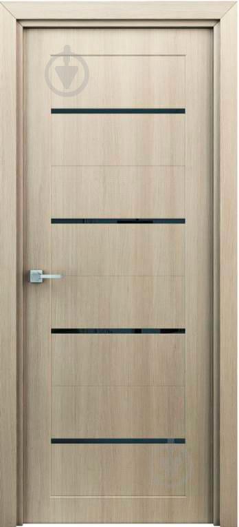 Дверне полотно Оріон штучний шпон ПО 900 мм капучіно - фото 1