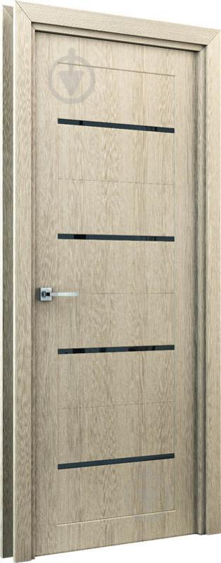 Дверне полотно Оріон штучний шпон ПО 900 мм капучіно - фото 2