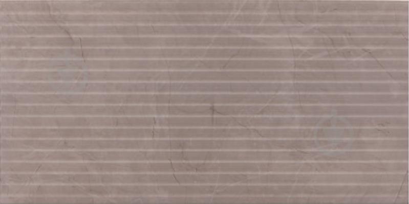 Плитка Mapisa Балморал лайнс грей 40,2x80 - фото 1