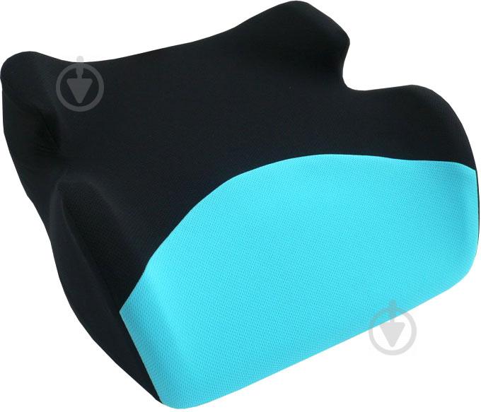 Автокрісло-бустер CarCommerce Junoir чорний/синій - фото 2
