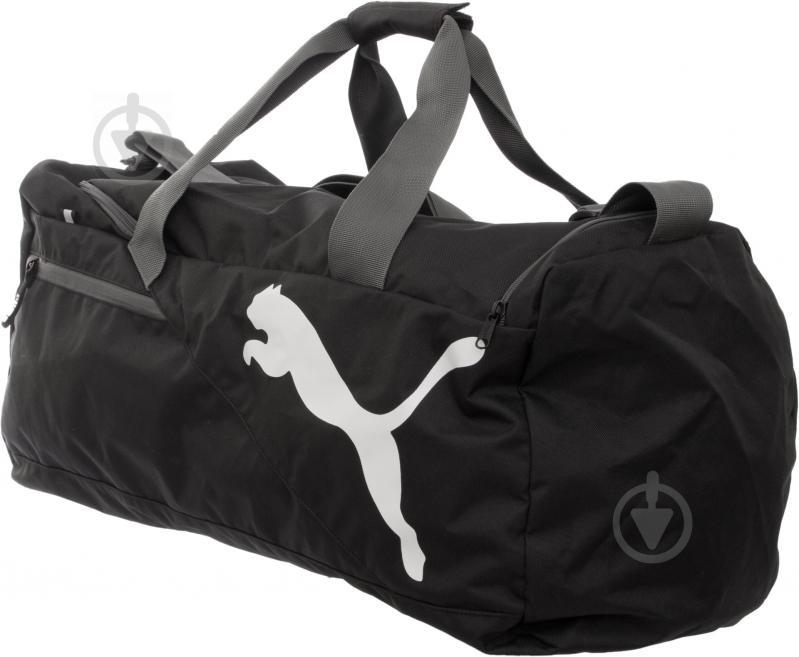 d183ce76d182 Cпортивная сумка Puma Fundamentals Sports Bag M 7339501 черный - фото 3