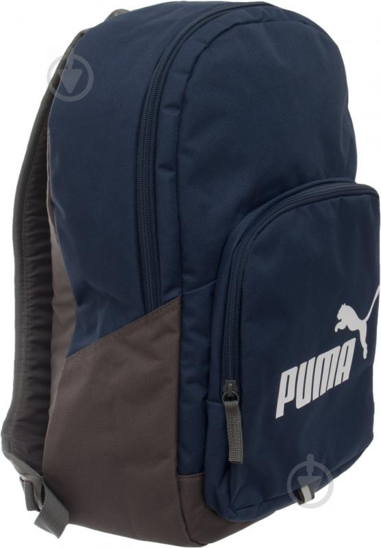 Рюкзак Puma Phase Backpack 20 л синий 7358902 - фото 2