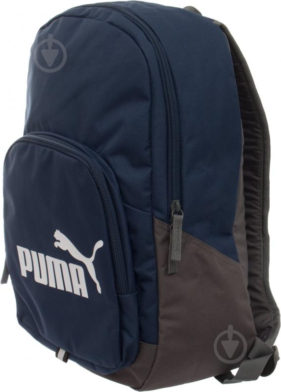 Рюкзак Puma Phase Backpack 20 л синий 7358902 - фото 4