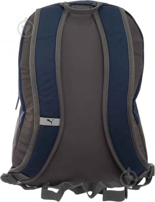 Рюкзак Puma Phase Backpack 20 л синий 7358902 - фото 3