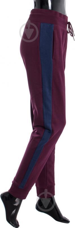 Спортивные брюки Puma р. S бордовый 57146905 - фото 3