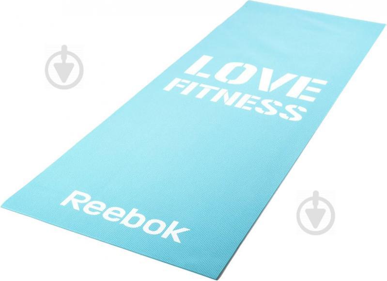 Мат гимнастический Reebok 173x53xLove Fitness RAMT-11024BLL голубой - фото 2