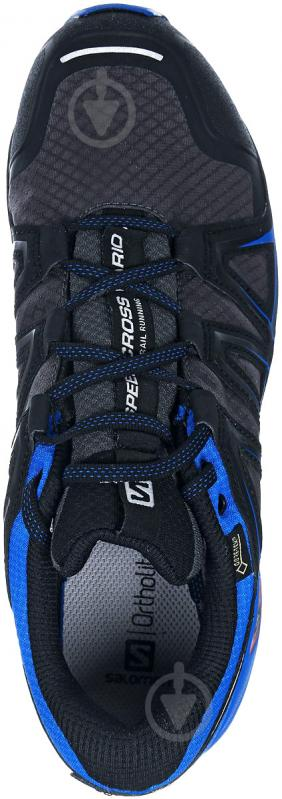 Кроссовки Salomon SPEEDCROSS VARIO 2 GTX M L39971500 р. 10 сине-серый - фото 3