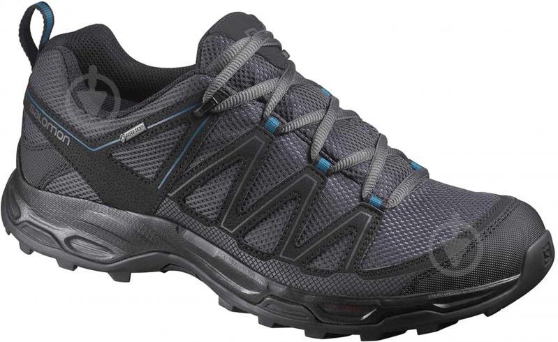 Кроссовки Salomon WENTWOOD GTX L40042700 р. 10 темно-серый - фото 1