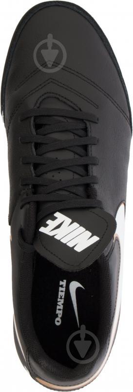 Футбольні бутси Nike Tiempo Genio II Leather TF 819196-638 р. 11 чорний із білим - фото 9