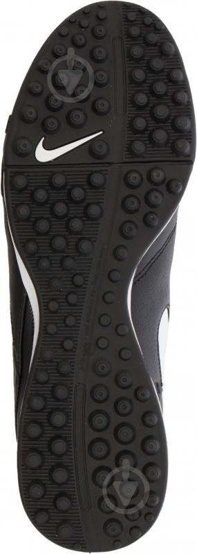 Футбольні бутси Nike Tiempo Genio II Leather TF 819196-638 р. 11 чорний із білим - фото 10