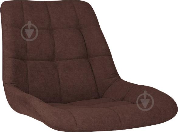 Сидіння для стільця NICOLE (BOX-4) (CH) SORO-28 тканина коричневий Nowy Styl