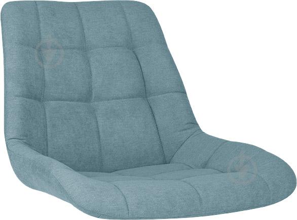 Сидіння для стільця NICOLE (BOX-4) (CH) SORO-34 тканина синій Nowy Styl