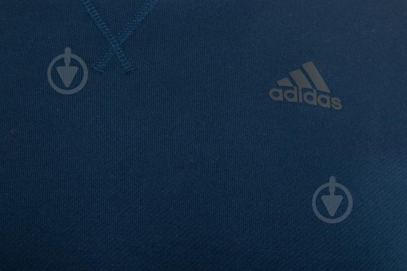 Свитшот Adidas AY5472 р. M синий - фото 4