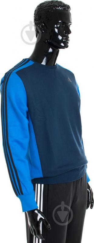 Свитшот Adidas AY5472 р. M синий - фото 2