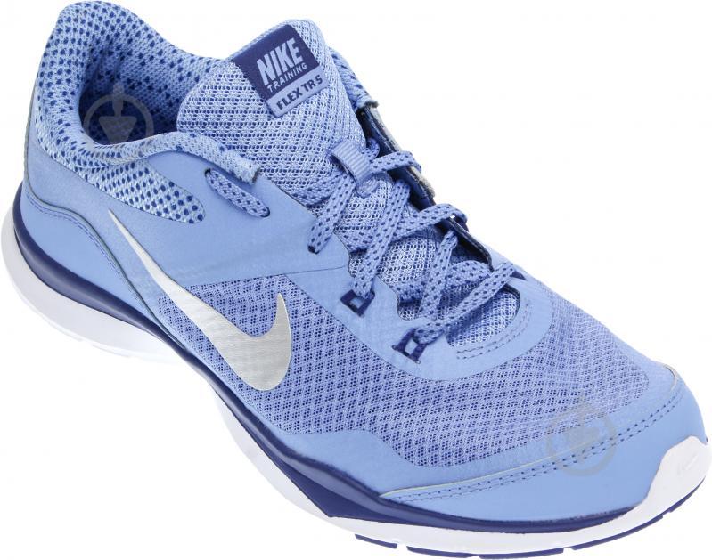 Кроссовки Nike FLEX TRAINER 5 р. 6 голубой 749184-405-6 - фото 4